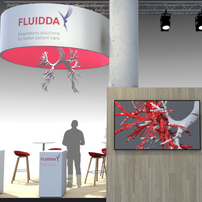 Fluidda is present at the ERS in Madrid with a booth and seven posters on new research with FRI technology.